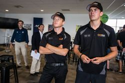 American drivers at Le Mans event: Patrick Long and Colin Braun