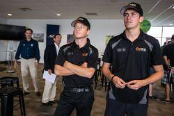 Pilotos americanos no evento Le Mans: Patrick Long e Colin Braun