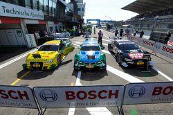 Mike Rockenfeller, Audi Sport Team Phoenix Audi RS 5 DTM, Augusto Farfus, BMW Team RBM BMW M3 DTM et