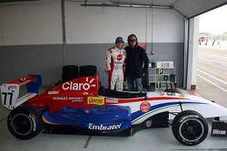 Pietro Fittipaldi, with Emerson Fittipaldi