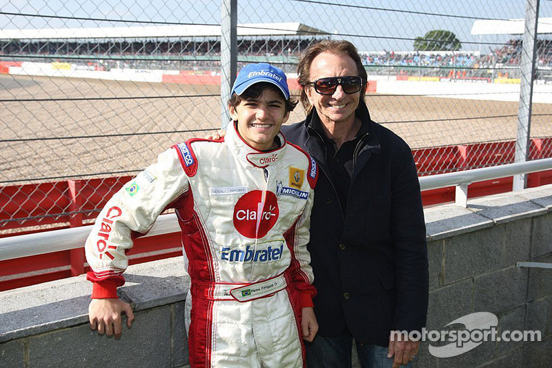 Pietro Fittipaldi et Emerson Fittipaldi