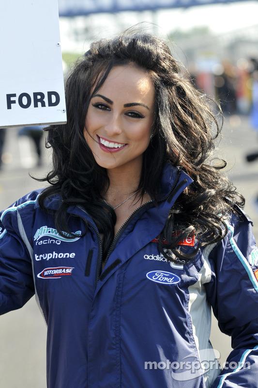 Airwaves Racing Grid Girl