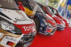 Los distintos autos Citroën utilizados por Sébastian Loeb
