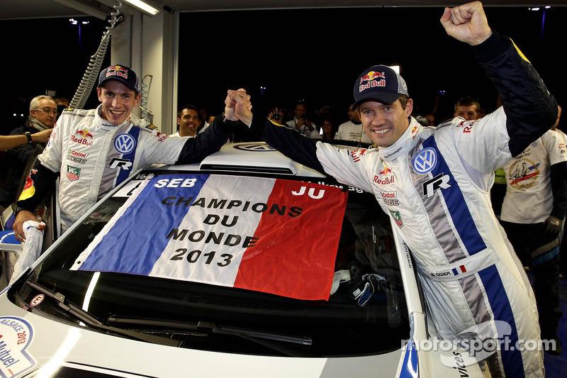 Sébastien Ogier y Julien Ingrassia, campeones del mundial de rallies (WRC) 2013