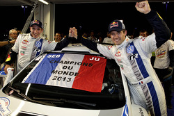 Sébastien Ogier y Julien Ingrassia, campeones de 2013, Volkswagen Polo WRC, Volkswagen Motorsport