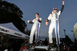 Les Champions du monde 2013 Sébastien Ogier et Julien Ingrassia, Volkswagen Polo WRC, Volkswagen Motorsport