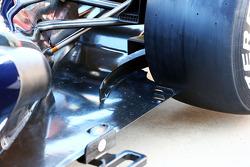 Williams FW35 rear taban detay