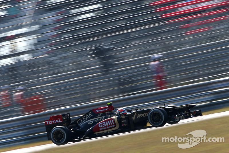 Romain Grosjean,  Lotus F1 Team  04