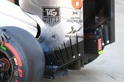 Sergio Perez, McLaren MP4-28 arka kanat