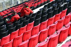 Volunteers grandstand