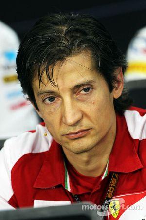 Massimo Rivola, director deportivo de Ferrari