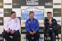 Yves Matton, Citroën, Malcolm Wilson, M-Sport, Jost Capito, Volkswagen Motorsport