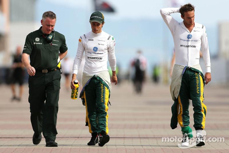 Charles Pic, Catheram Formula One Team en Giedo van der Garde, Caterham F1 Team