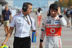 Sergio Perez, McLaren ve Antti Vierula, Personal Trainer