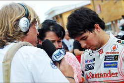 Sergio Perez, McLaren medya ile