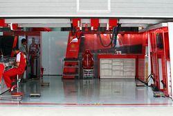 Box de Ferrari para Felipe Massa