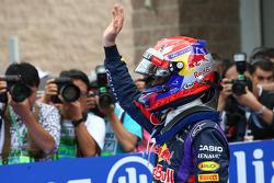 Pole: position for Sebastian Vettel, Red Bull Racing