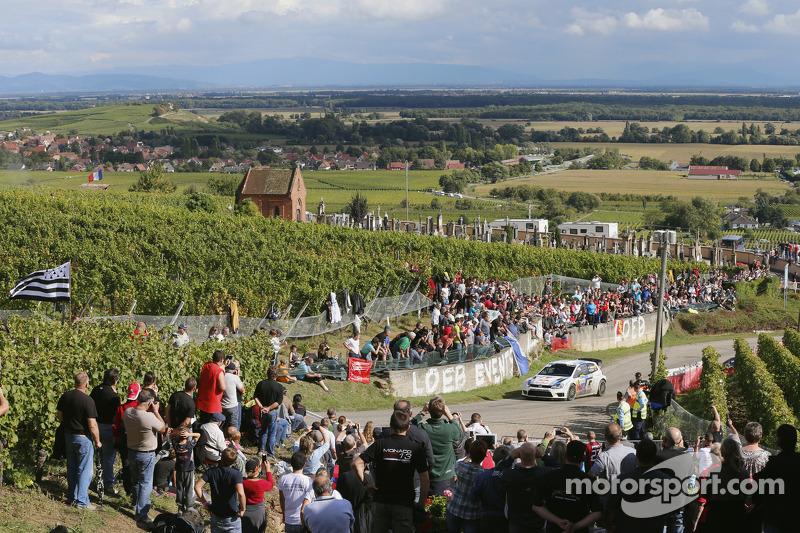 Andreas Mikkelsen y Paul Nagle, Volkswagen Polo WRC, Volkswagen Motorsport