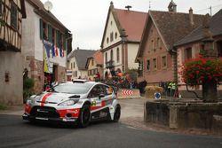 Romain Dumas et Denis Giraudet, Ford Fiesta RS WRC