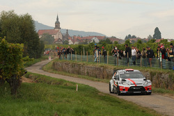 Romain Dumas and Denis Giraudet, Ford Fiesta RS WRC