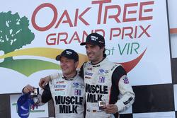 Race winners Lucas Luhr and Klaus Graf