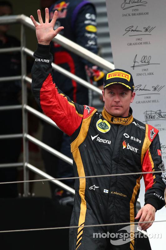Kimi Raikkonen, Lotus F1 Team 2nd place