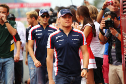 Valtteri Bottas, Williams pilotlar geçit töreninde