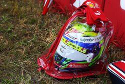 Le casque de Felipe Massa, Ferrari