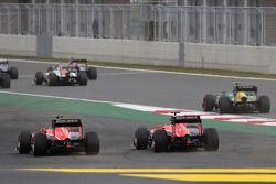 Jules Bianchi, Marussia Formula One Team et Max Chilton, Marussia F1 Team
