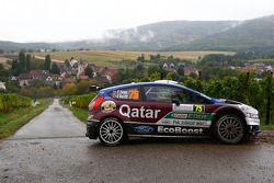 Elfyn Evans and Daniel Barritt, Ford Fiesta WRC