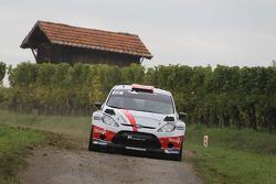 Romain Dumas y Denis Giraudet, Ford Fiesta RS WRC