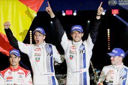I vincitori Sébastien Ogier and Julien Ingrassia, Volkswagen Polo WRC, Volkswagen Motorsport