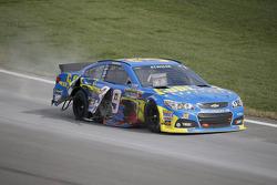 Ryan Newman, Stewart-Haas Racing Chevrolet in trouble
