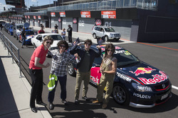 Les pilotes Red Bull Racing Australia
