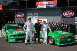 Chaz Mostert, Dale Madeira e Dick Johnson
