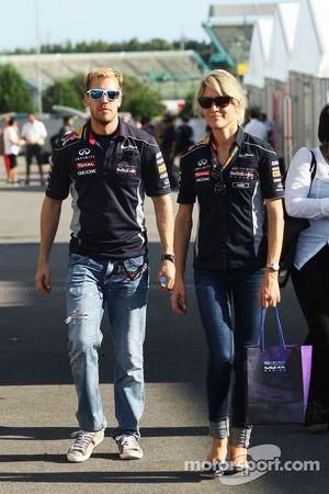 Sebastian Vettel, Red Bull Racing ve Britta Roeske, Red Bull Racing Basın Sorumlusu