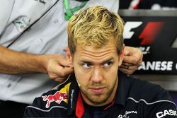 Sebastian Vettel, Red Bull Racing FIA basın toplantısı