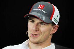 Nico Hulkenberg, Sauber FIA basın toplantısı