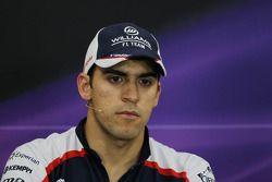 Pastor Maldonado, Williams FIA basın toplantısı