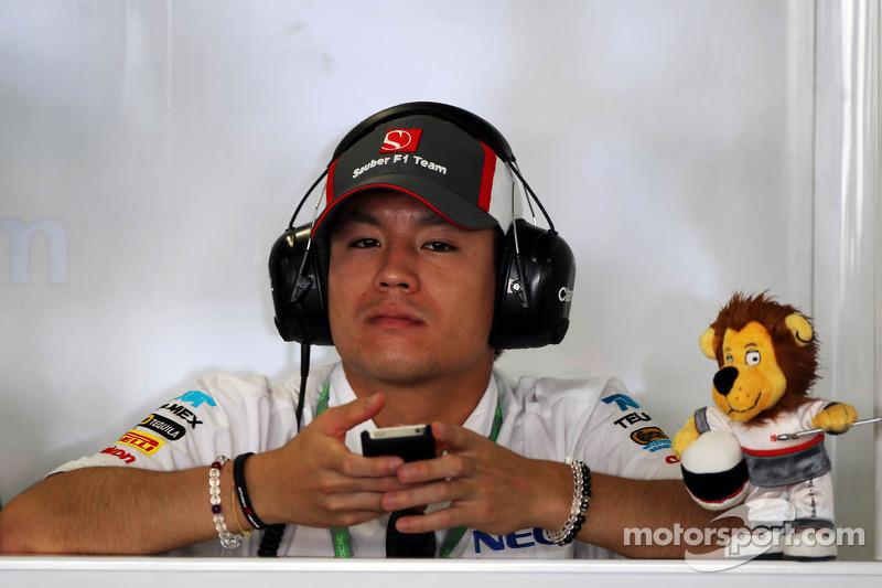 Kimiya Sato, Sauiber Reserve Driver