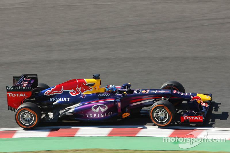2013 - Suzuka: Sebastian Vettel, Red Bull-Renault RB9