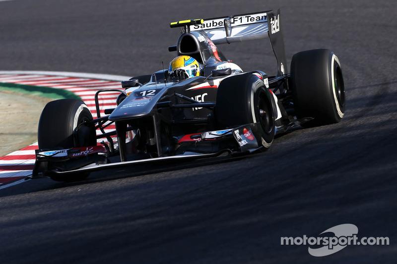 Esteban Gutierrez: 60 Grand Prix'nin 1'inden puanla ayrıldı
