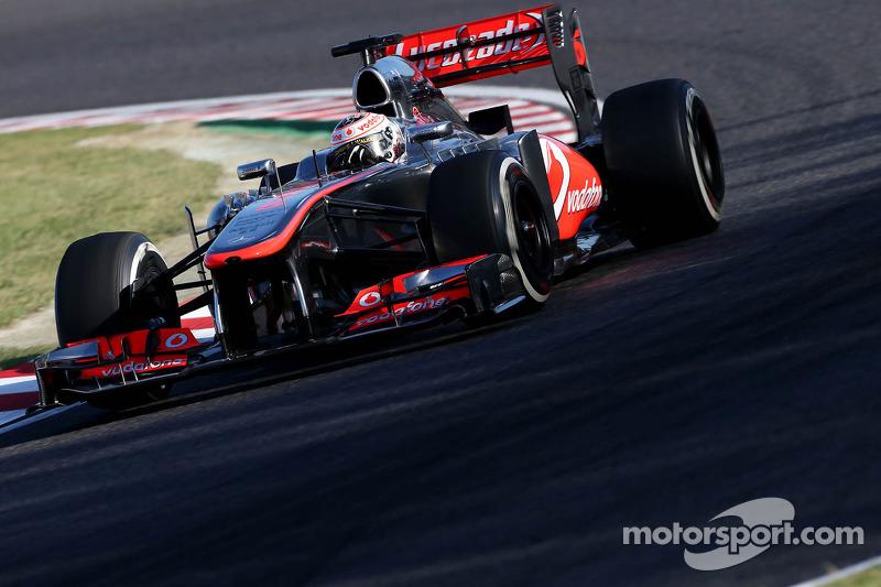 2013 - McLaren MP4-28 (motor Mercedes)