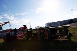 Lotus F1 E21, Kimi Raikkonen, Lotus F1 Team, who spun 2. practice session