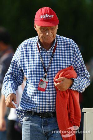 Niki Lauda, Mercedes Fahri Yönetim Kurulu Başkanı