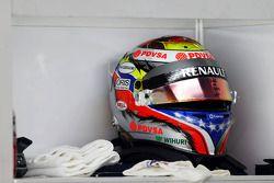 The, kask, Pastor Maldonado, Williams