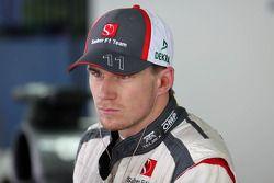 Nico Hulkenberg, Sauber F1 Team Formula 1 team