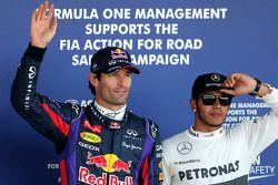 Pole: Mark Webber, 3. Lewis Hamilton
