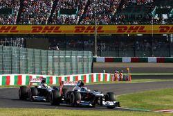 Valtteri Bottas, Williams FW35 leasds takım arkadaşı Pastor Maldonado, Williams FW35