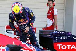 Pole: Mark Webber, Red Bull Racing RB9 kapalı park